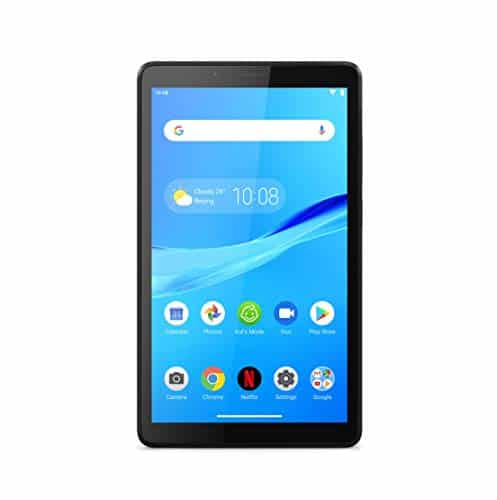 Lenovo Tab M7 17,8 cm (7 Zoll, 1024x600, SD, IPS, Touch) Tablet-PC (Quad-Core, 1GB RAM, 16GB eMCP, WIFI, Android 9) schwarz